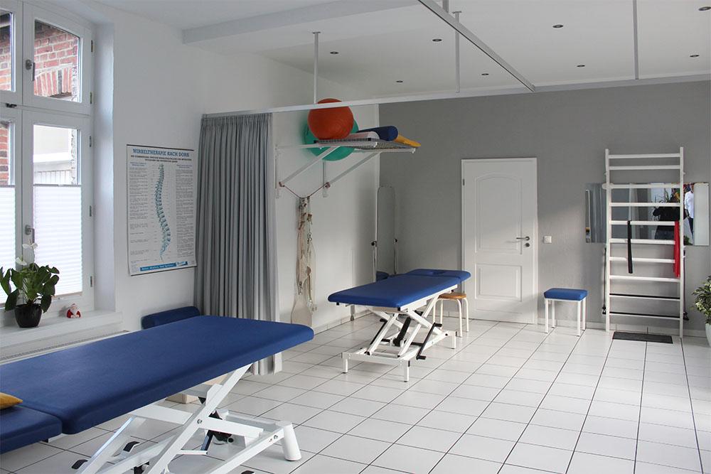 Einrichtung - KG Team Molkenthin GbR · Praxis für Krankengymnastik in 45468 Mülheim